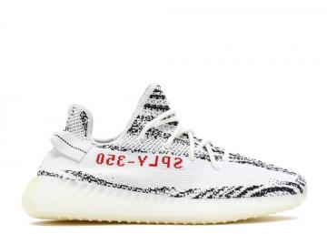 Adidas Yeezy Boost 350 V2 Zebra Core White Black Red CP9654