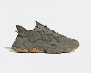 Adidas OZWEEGO Trace Cargo Night Cargo-Raw Khaki Running Shoes EE6461