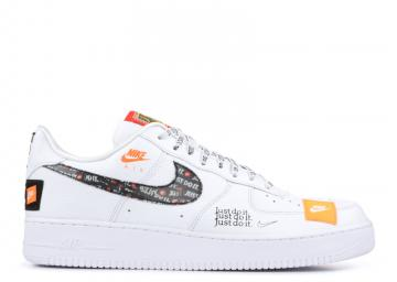 Air Force 107 Prm Jdi Just Do It Orange White Total Black AR7719-100