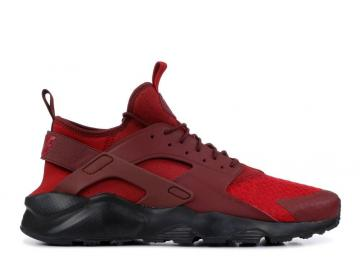 Nike Air Huarache Run Ultra Dark Black Tough Red Team 819685-604