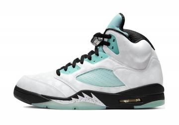 Air Jordan 5 Island Green White Black CN2932-100