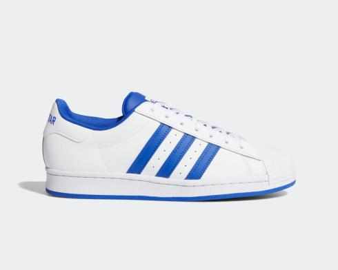 Adidas Originals Superstar Cloud White Bold Blue Clear Granite FV8272