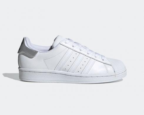 Adidas Originals Superstar Grey Cloud White Kids Shoes FV3703