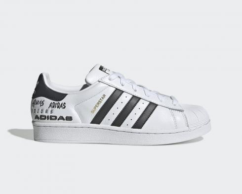 Adidas Superstar Cloud White Core Black Shoes EH1214