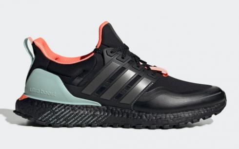 Adidas UltraBoost Guard Core Black Night Metallic Green Tint FW7759