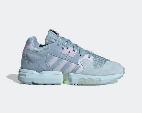Adidas Wmns ZX Torsion Ash Grey Purple Tint Sky Tint EF4373