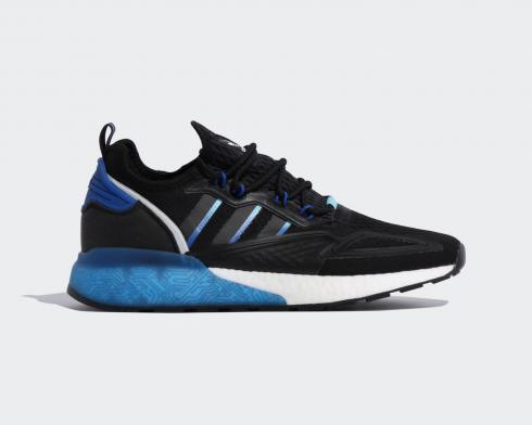 Adidas ZX 2K Boost Core Black Bright Royal Cloud White FY1458