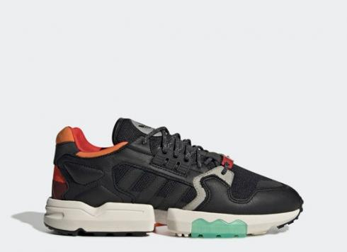 Adidas ZX Torsion Black Orange Green Shoes EE5553