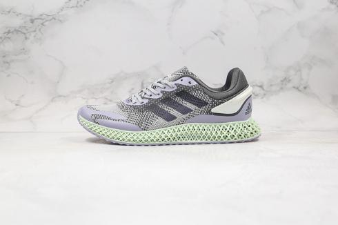 Adidas 4D Run 1.0 Style Code Core Black Green Grey Shoes FW4656