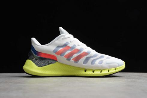 Adidas Climacool Cloud White Yeelow Core Black Volt Shoes FW1225