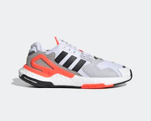 Adidas Day Jogger Cloud White Hot Coral Grey Two Core Black FY0237