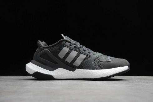 Adidas Day Jogger Core Black Grey Cloud White Running Shoes FW3019