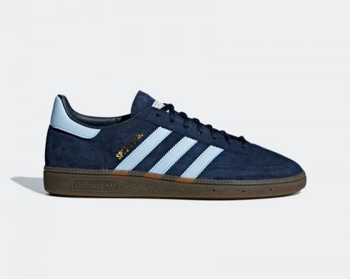 Adidas Handball Spezial Navy Gum Clear Sky Blue Shoes BD7633