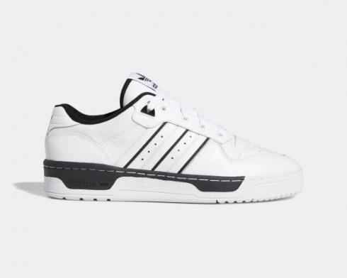Adidas Originals Rivalry Low Footwear White Core Black Shoes EE4657