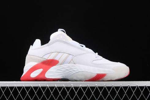 Adidas Originals Streetball Cloud White University Red Shoes EF1905