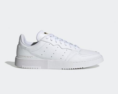 Adidas Originals Supercourt 70th Celebration White Gold FU9199