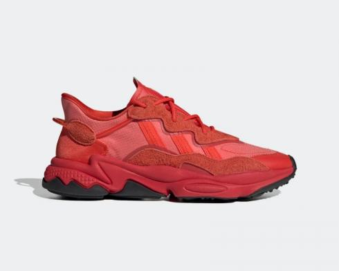 Adidas Ozweego Hi-Res Red Glory Red Black FV2911