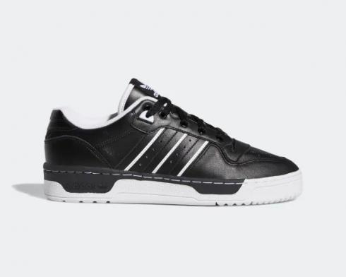 Adidas Rivalry Low Core Black Cloud White EE4655