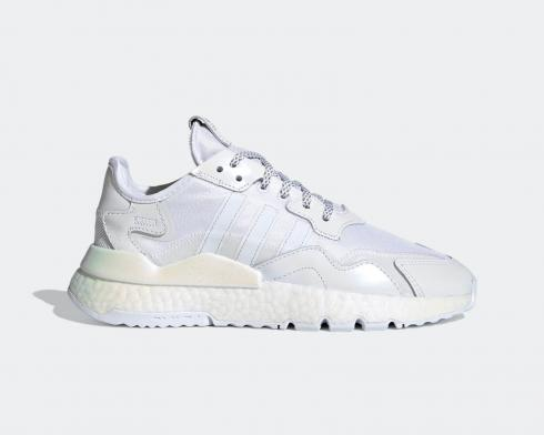 Adidas Wmns Nite Jogger BOOST Reflective Grey White Shoes EG8849