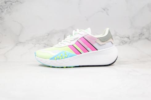 Adidas Wmns Originals Marathon Cloud White Pink Green CT8697