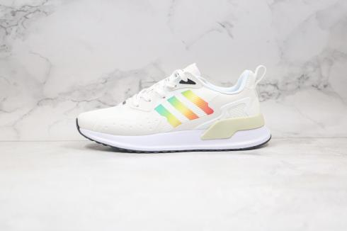 Adidas X PLR Cloud White Core Black Multi-Color Shoes EE7654