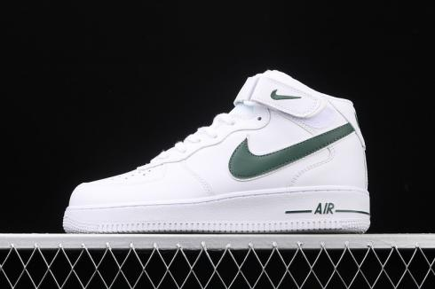 Nike Wmns Air Force 1'07 Mid White Green Footwear Running Shoes AO2424-104