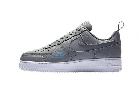 Nike Air Force 1 LV8 Utility Particle Grey White Shoes CV3039-001