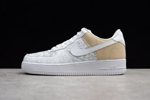 Nike Air Force 1 Low PRM YOTD Year Of The Dog White Shoes A09281-100