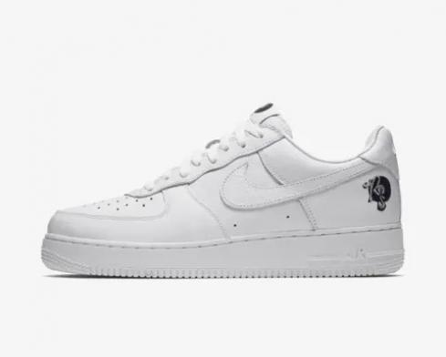 Nike Air Force 1 Low Roc-A-Fella White Black Running Shoes A01070-101