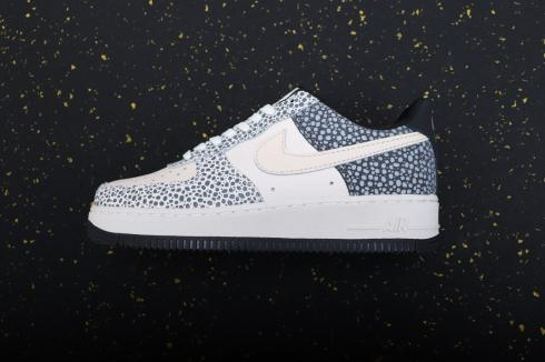 Nike Air Force 1 Low Unlocked By You White Black Blue DH7128-991