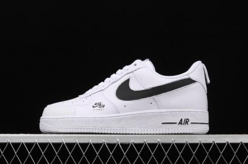 Nike Air Force 1 Utility Summit White Black Running Shoes CV3039-105