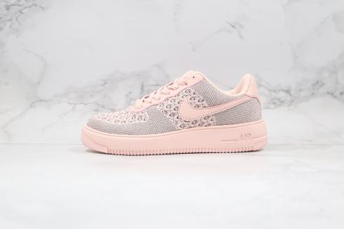 Nike Wmns Air Force 1 Flyknit 2.0 Gypsophila Pink Shoes AV3042-300