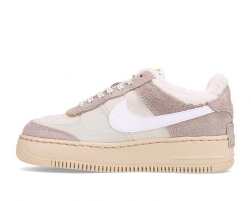 Nike Wmns Air Force 1 Shadow Wild Pink Brown Grey Shoes DC5270-016