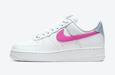 Wmns Nike Air Force 1 Low White Fire Pink CT4328-101