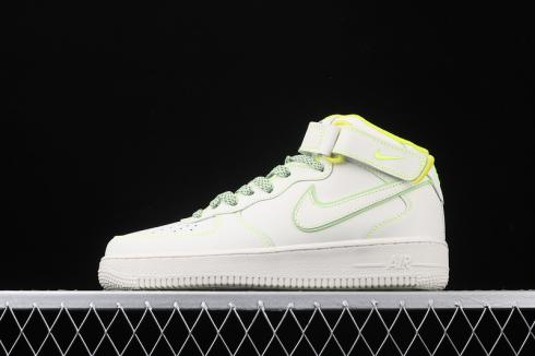 3M x Nike Air Force 1 07 Mid White Green Shoes AA1118-012