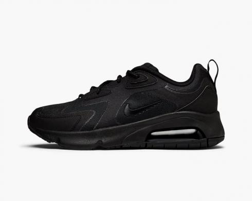 Nike Wmns Air Max 200 Triple Black Running Shoes AT6175-003