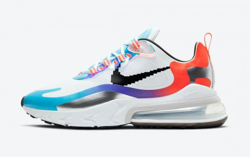 Nike Air Max 270 React Have A Good Game White Iridescent DC0833-101