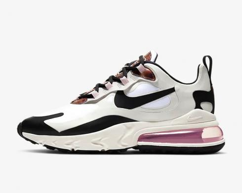 Nike Wmns Air Max 270 React Tortoise Shell Barely Rose Black CU4752-100