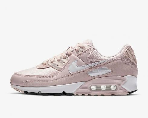 Wmns Nike Air Max 90 Barely Rose White Black CZ6221-600