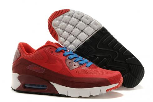 Nike Air Max 90 BR Black Chilling Red Unisex Running Shoes 644204-600
