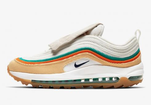 Nike Air Max 97 Golf NRG Lucky and Good Celestial Gold Neptune Green CJ0563-200