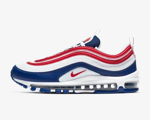 Nike Air Max 97 USA White Obsidian University Red Blue CW5584-100
