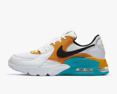 Nike Air Max Excee Golden Yellow Turquoise CD4165-104