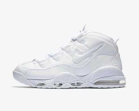 Nike Air Max 2 Uptempo 94 Triple White Running Shoes 922934-100