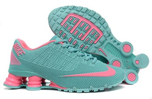Nike Shox Turbo 21 KPU Women Shoes Green Glow Pink