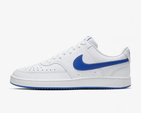 NikeCourt Vision Low White Game Royal Blue CD5463-103