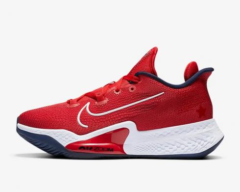 Nike Air Zoom BB NXT USA Sport Red White Midnight Navy CK5707-600