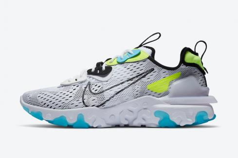 Nike React Vision Worldwide Pack White Volt Blue Fury Black CT2927-100