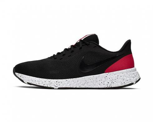 Nike Revolution 5 Black White Red Anthracite Running Shoes BQ3204-003