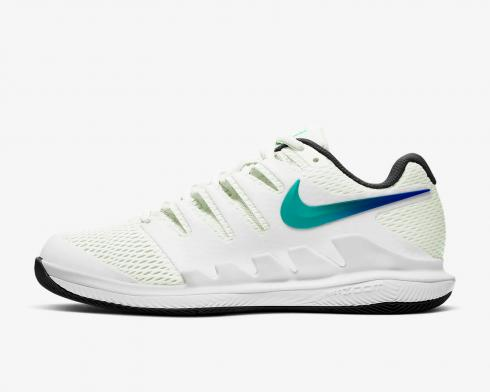 Nike Wmns Air Zoom Vapor X HC Ombre Swoosh Summit White Black AA8027-112
